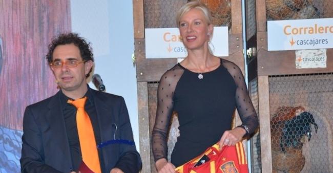 Entrega de Premios Cascajares Fundación Síndrome de Down con Anne Igartiburu