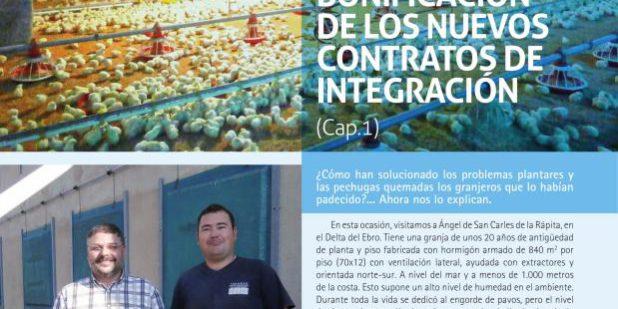 Contratos integración avicultura carne bonficaciones