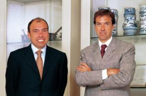 Antoni Esteve Cruella y Albert Esteve. LABORATORIOS DR ESTEVE