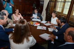 Coren se reune con Ministra de Agricultura