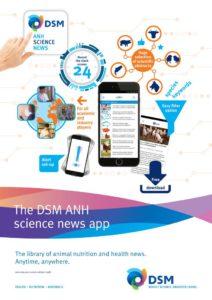 La nueva aplicación ANH Science News de DSM