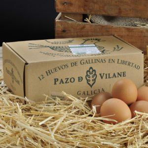 """""""La caja de la gallinita"""", 100% reciclable y 100% reutilizable."""