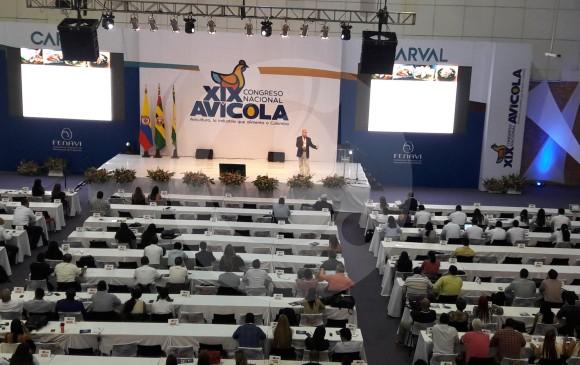 XIX Congreso nacional Avícola de Colombia, celebrado 5-7 sept 2018. Foto F.Arias