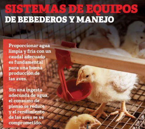 Sistemas De Equipos De Bebederos Y Manejo Avicultura